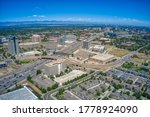 Aerial View Of Denver Suburb Of ...
