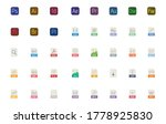 all file types icon you need ... | Shutterstock .eps vector #1778925830