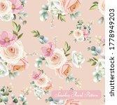 beautiful floral seamless... | Shutterstock .eps vector #1778949203