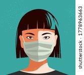 illustration of asian woman...   Shutterstock .eps vector #1778963663