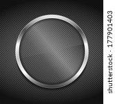 transparent glass board on...   Shutterstock . vector #177901403