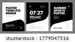 simple template design with...   Shutterstock .eps vector #1779047516
