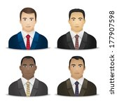 business men various... | Shutterstock .eps vector #177907598
