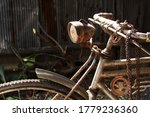 A Rusty Antique Tricycle...