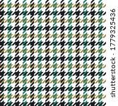 Houndstooth Pattern Vector In...