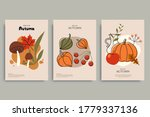colorful autumn illustrations... | Shutterstock .eps vector #1779337136