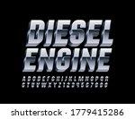 vector aluminum metal banner... | Shutterstock .eps vector #1779415286