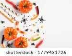 Happy Halloween Holiday Concept....