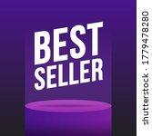 podium best seller violet... | Shutterstock .eps vector #1779478280