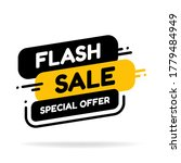 flash sale and special offer...   Shutterstock .eps vector #1779484949