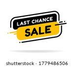 Last Chance Sale Banner....