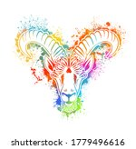 capricorn is the sign of the... | Shutterstock .eps vector #1779496616