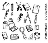 set of stationery and office... | Shutterstock .eps vector #1779525056