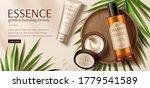 banner ad for luxury beauty... | Shutterstock .eps vector #1779541589