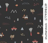 Baby Seamless Pattern With Toy...
