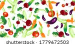 vector seamless pattern with... | Shutterstock .eps vector #1779672503