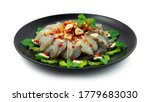 Shrimps In Fish Sauce Ontop...