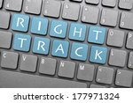 Right Track On Keyboard