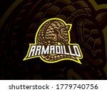 armadillo mascot sport logo... | Shutterstock .eps vector #1779740756