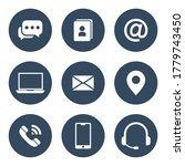 set of web symbol for web... | Shutterstock .eps vector #1779743450