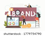 marketing specialists male and... | Shutterstock .eps vector #1779754790