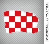 flag of north brabant brush...