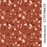 terrazzo seamless pattern.... | Shutterstock .eps vector #1779798479