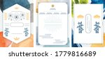 japanese pattern and icon... | Shutterstock .eps vector #1779816689