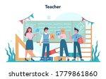 Teacher Concept. Profesor...