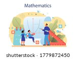 math course concept. learning... | Shutterstock .eps vector #1779872450