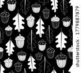 autumn seamless pattern with...   Shutterstock .eps vector #1779887879