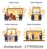 judge online service or... | Shutterstock .eps vector #1779935243