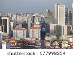 Singapore Cityscape With...