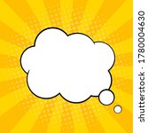 pop art comic speech bubble.... | Shutterstock .eps vector #1780004630