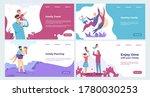 family landing page. insurance... | Shutterstock . vector #1780030253
