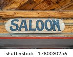 Rustic Sign For A Old West...