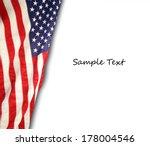 american flag | Shutterstock . vector #178004546