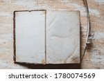 Blank Sheets Of Old Paper Of...