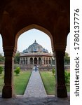 View Of Humayun\'s Tomb The Tom...