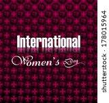 women's day element for... | Shutterstock .eps vector #178015964