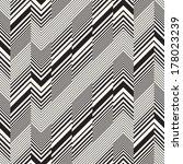 abstract broken striped... | Shutterstock .eps vector #178023239