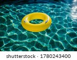 Yellow Inflatable Donuts...
