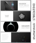 vector layout of headers ... | Shutterstock .eps vector #1780265543