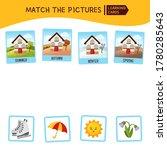 matching children educational... | Shutterstock .eps vector #1780285643