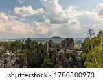 Bastei Bridge Between Rocks...
