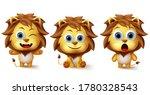 lion animals vector character...   Shutterstock .eps vector #1780328543