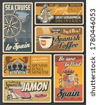 Spanish Cuisine Food  Coffee...