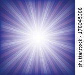 radial background vector... | Shutterstock .eps vector #178045388
