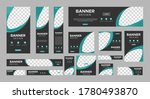 set of creative web banners of... | Shutterstock .eps vector #1780493870
