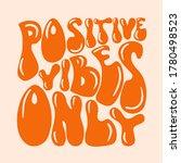 70s retro hand lettering... | Shutterstock .eps vector #1780498523